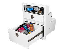 JC Drawer Unit Open with Glovebox