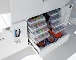 8 Tray 1 Drawer Tackle Unit with Lure Bags