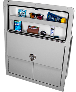 Manitou Wine Cabinet with Open Glovebox
