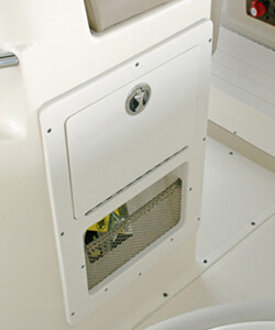 Access Door with Net Storage