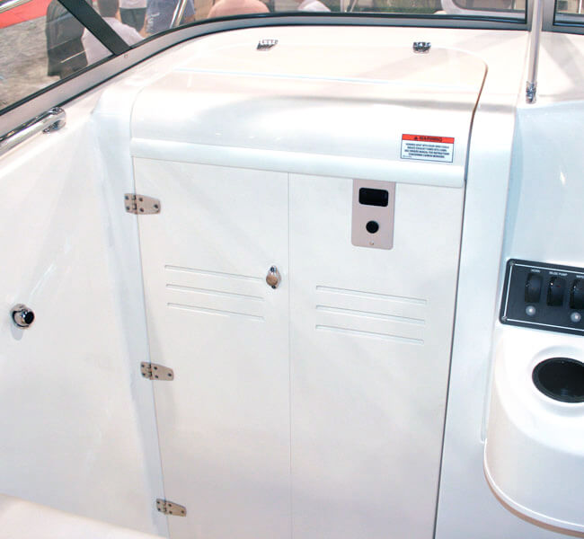 Bent Acrylic Hatch Cover with Starboard Doors & Teak Isle » Products » Marine » Cabin Entry Doors - Cabin Entry ...