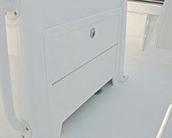 Center Console Door with Toe Kick