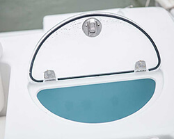 Clear Acrylic Baitwell Lid With Friction Hinges and Stainless Slam Latch
