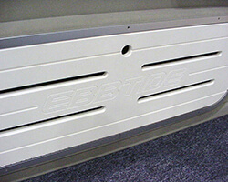 Floor Storage Lid with Engraving