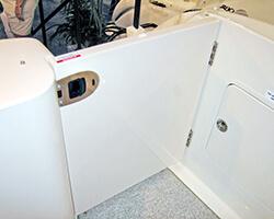 Hollow Core Acrylic Door with Omni Latch