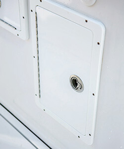 King Starboard Access Door with Stainless Steel Flush Latch