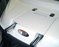 Ladder Lid Made From Anti-Skid Poly