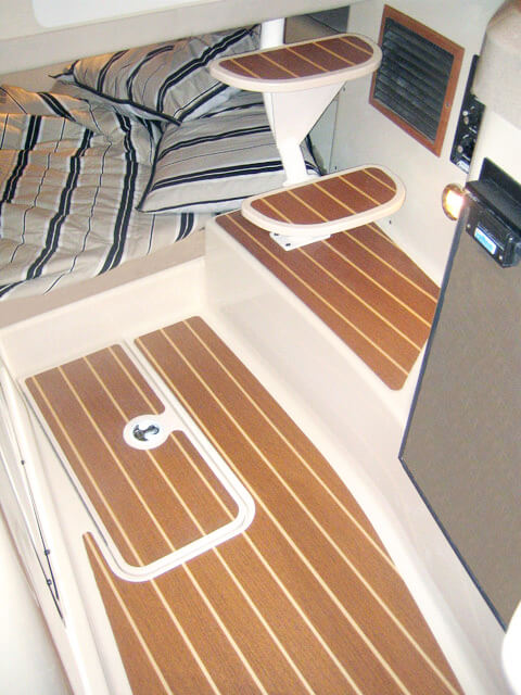 teak isle » products » marine » entry steps and floor inserts