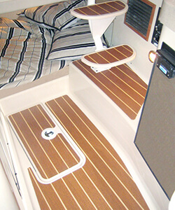 Loncoin Teak and Holly Floor and Step Inserts