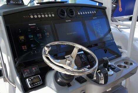 Boston Whaler Acrylic Dash Overlay Panel