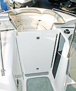 Starbaord Bi-folding Windbreak Door