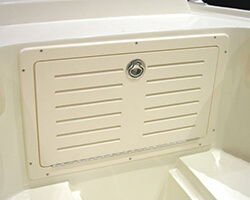 Starboard Anchor Locker Door with Vents