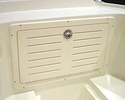 Starboard Anchor Locker Door with Vents