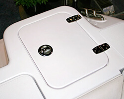 Starboard Rear Lid with Hardware