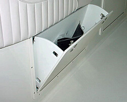 Tilt-Out Side Wall Storage Box