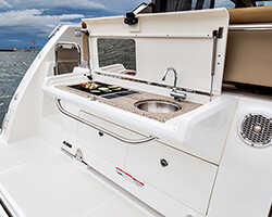 Transom Cook Top