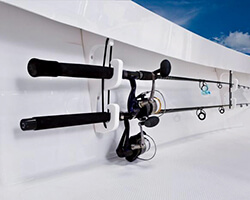 Two Rod Gunwale Mount