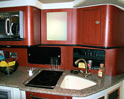 Upper Galley Unit and Solid Surface Counter Top