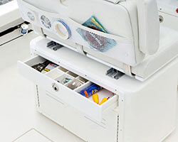 Wide Top Drawer with Dividers