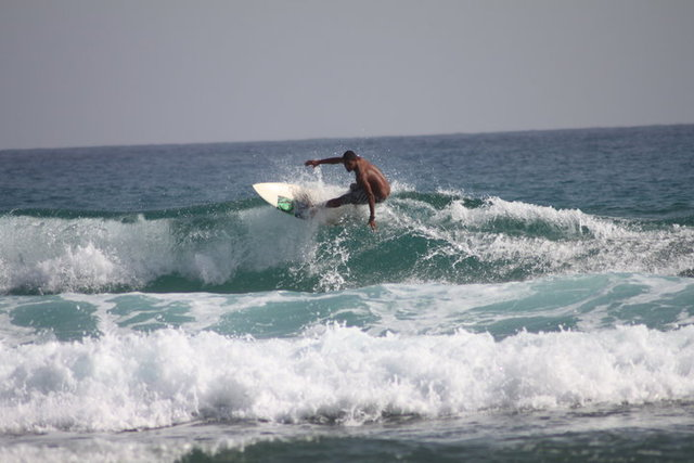 Caribbean Sea producing quality surf