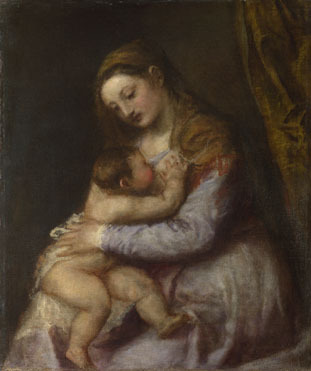 Titian-virgin-child