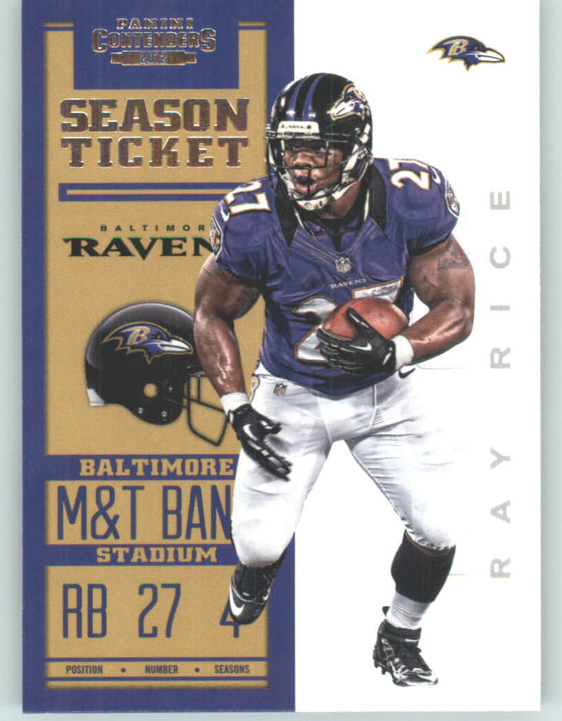 Panini Contenders 2012 Panini Contenders Playoff Season Ticket # 9 Ray Rice - Baltimore Ravens (NFL Football Trading Card) at Sears.com
