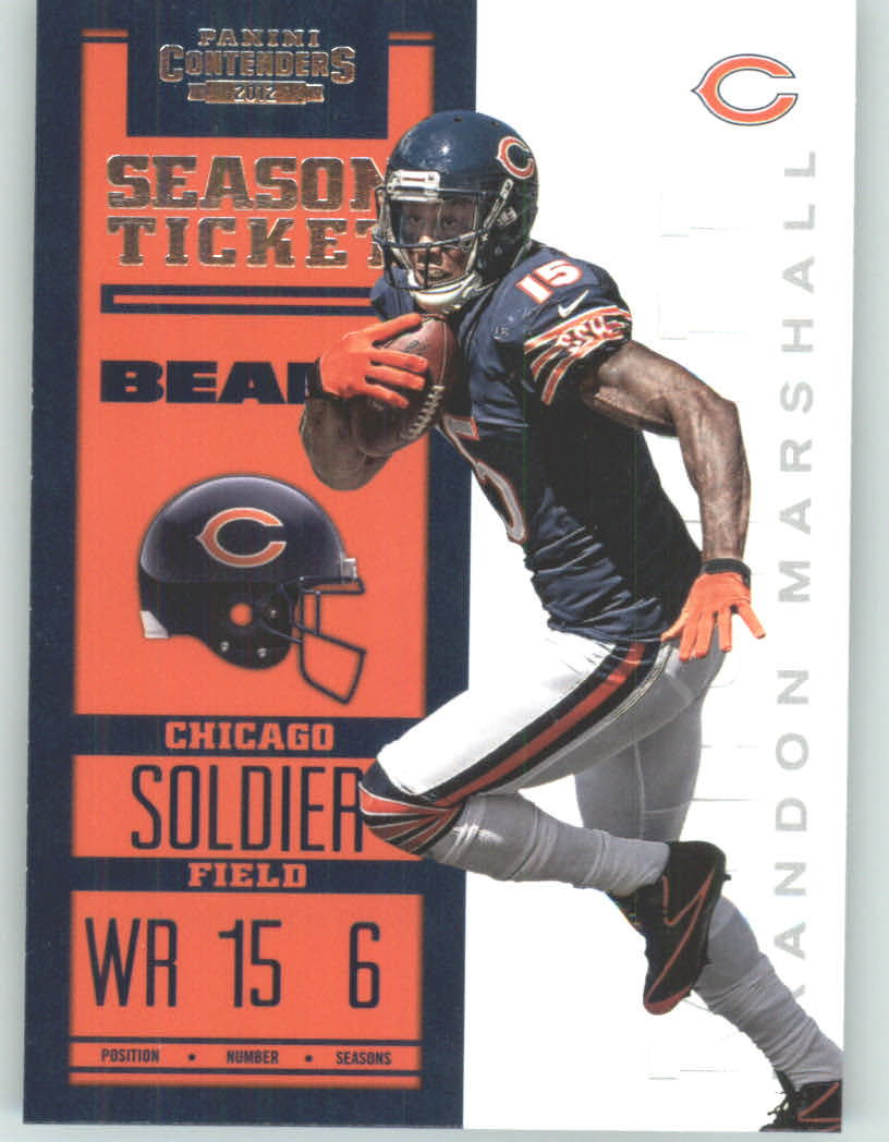 Panini Contenders 2012 Panini Contenders Playoff Season Ticket # 19 Chicago Bears - Chicago Bears (NFL Football Trading Card) at Sears.com
