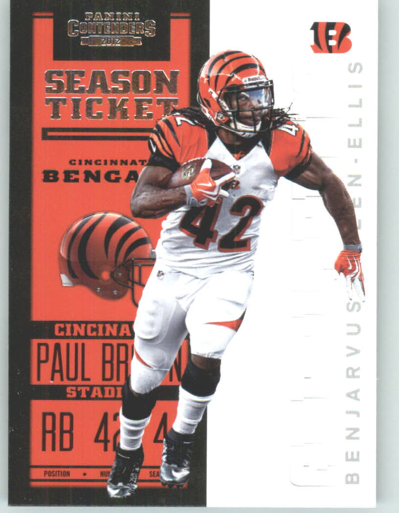 Panini Contenders 2012 Panini Contenders Playoff Season Ticket # 22 BenJarvus Green-Ellis - Cincinnati Bengals (NFL Football Trading Card) at Sears.com