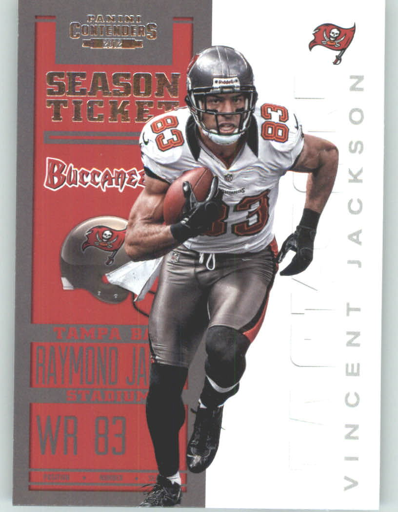 Panini Contenders 2012 Panini Contenders Playoff Season Ticket # 94 Vincent Jackson - Tampa Bay Buccaneers (NFL Football Trading Card) at Sears.com
