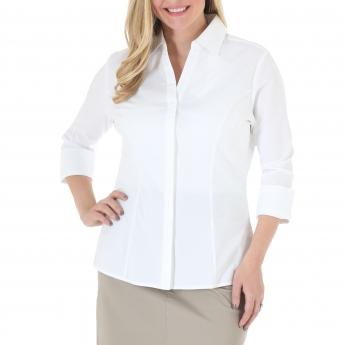 Kate 3/4 Sleeve Woven Shirt