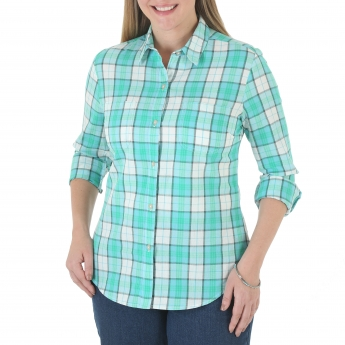 Mariah Long Sleeve Woven Shirt