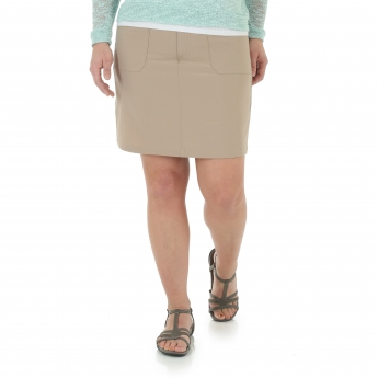 Maya Rib Knit Waist Skort