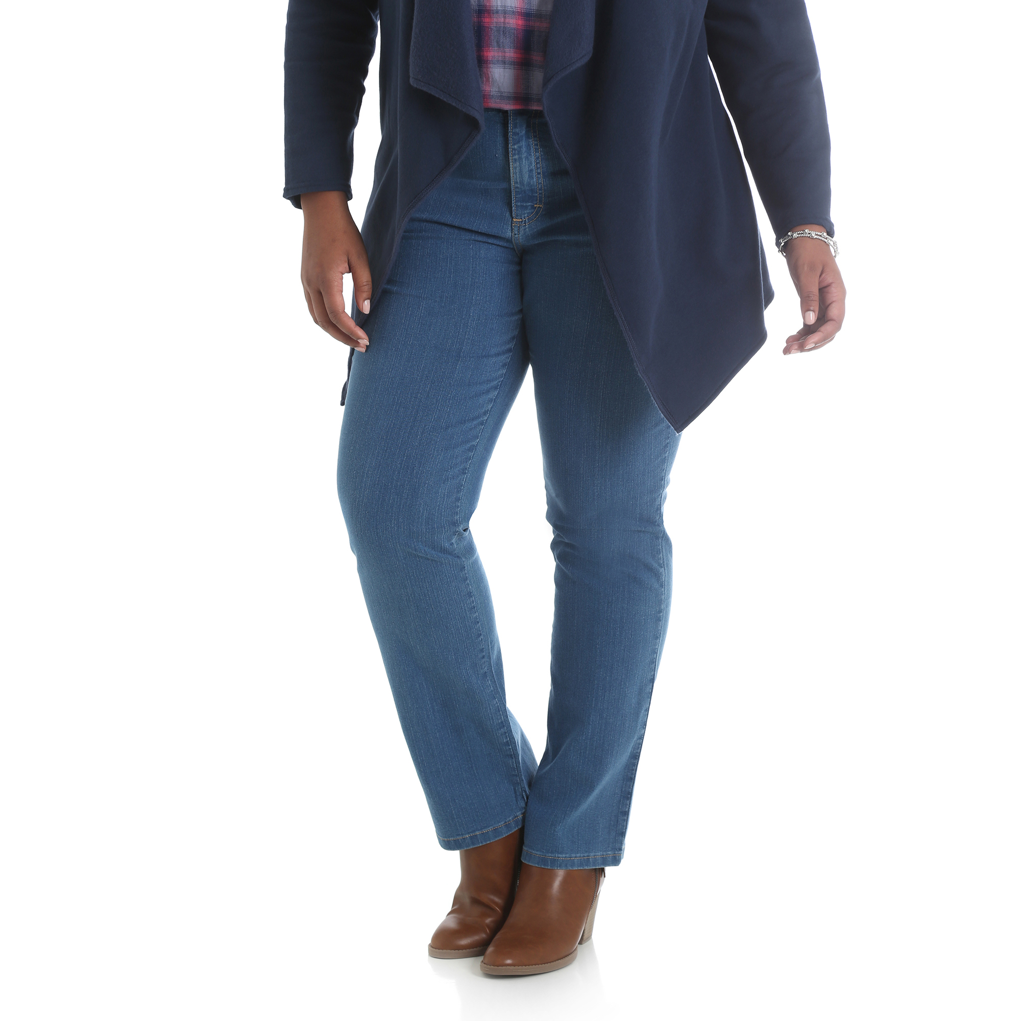157HPAB - Simply Comfort Straight Leg Jean