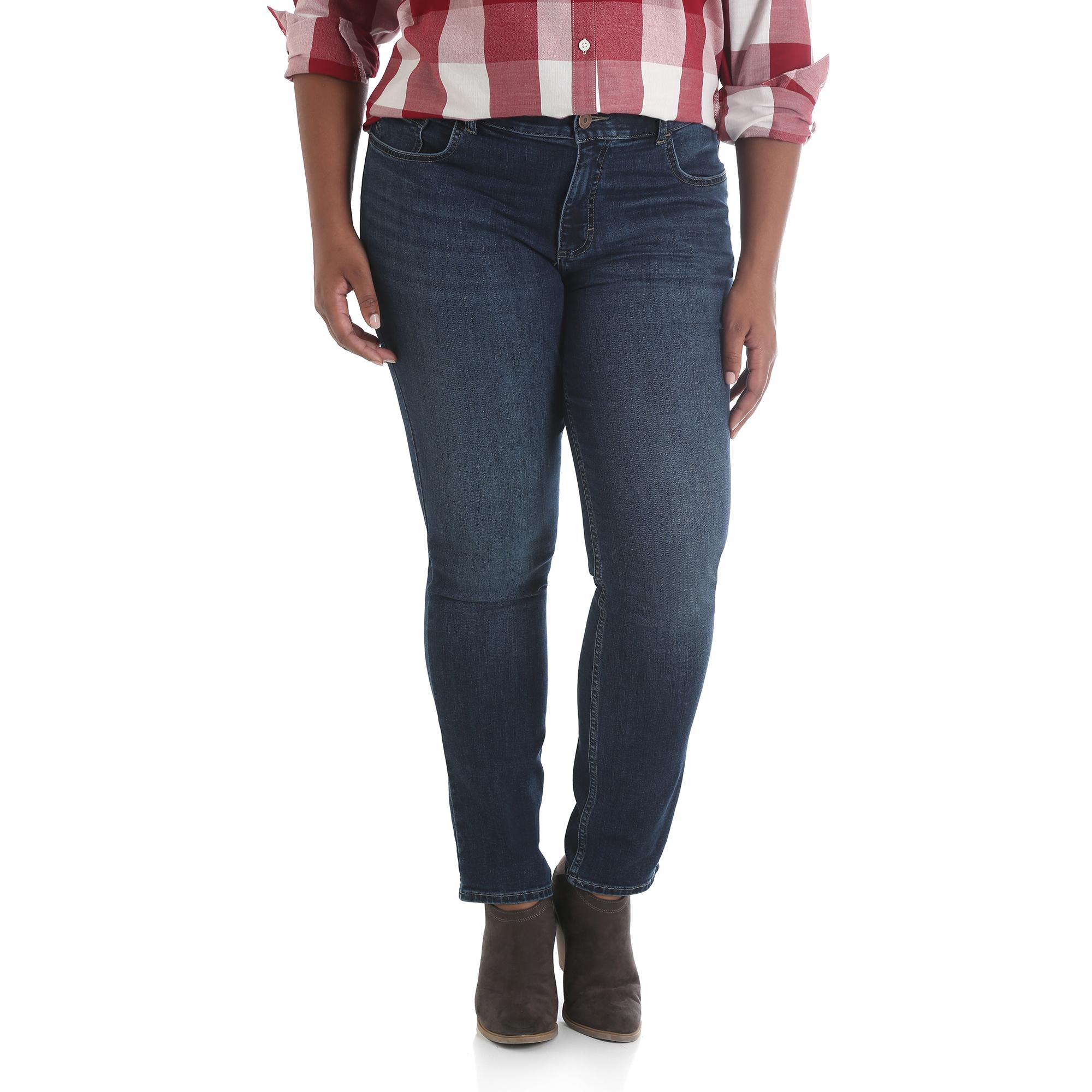 157SSW6 - Midrise Slim Straight Jean