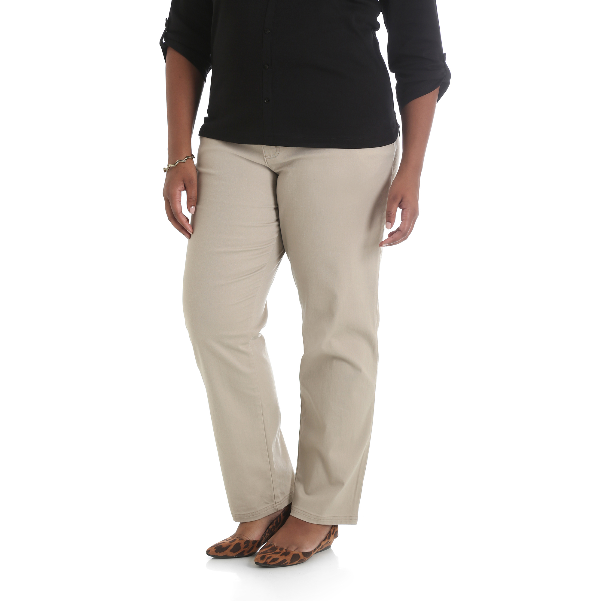 158LH16 - Simply Comfort Straight Twill Pant