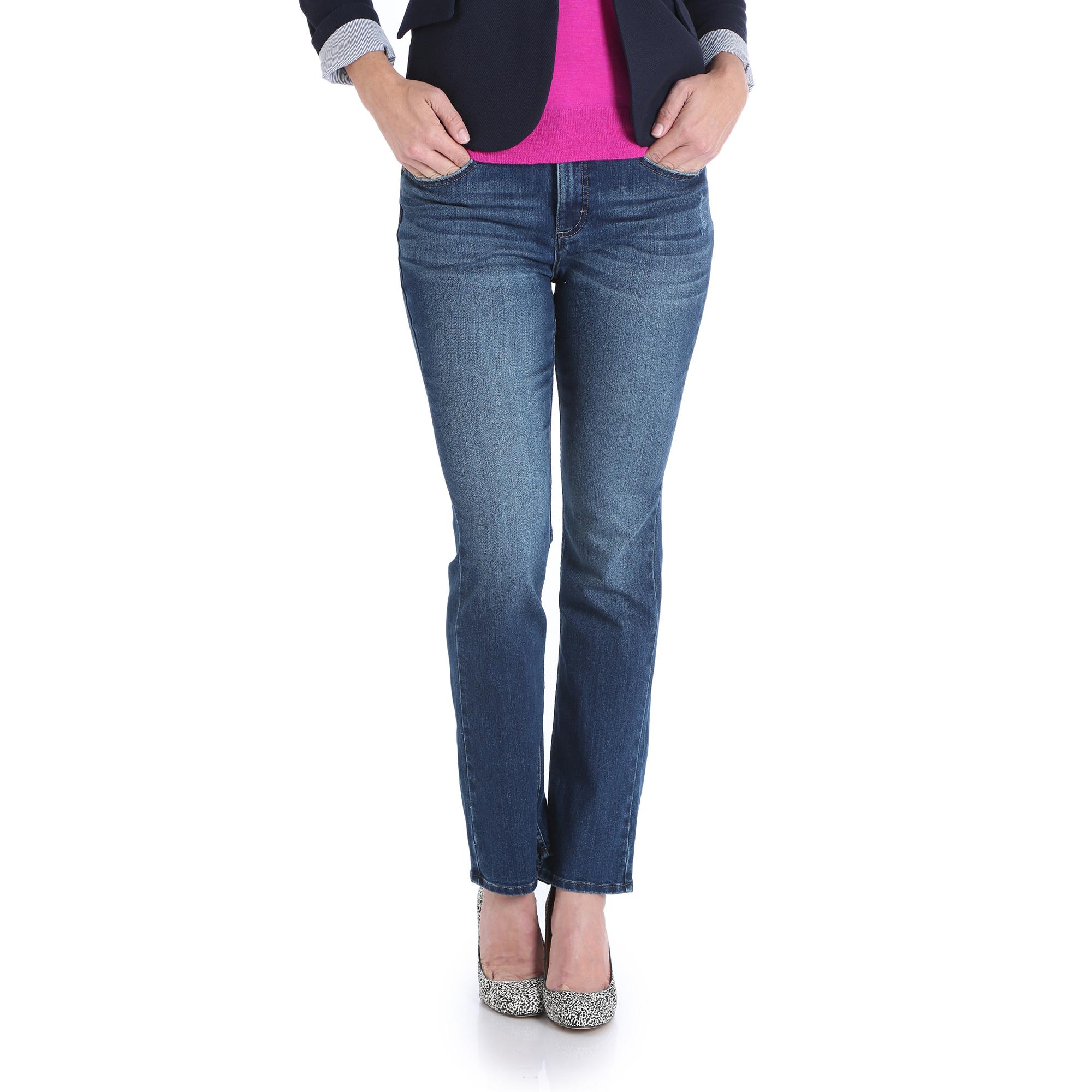 1SMTCW6 - Midrise Straight Jean