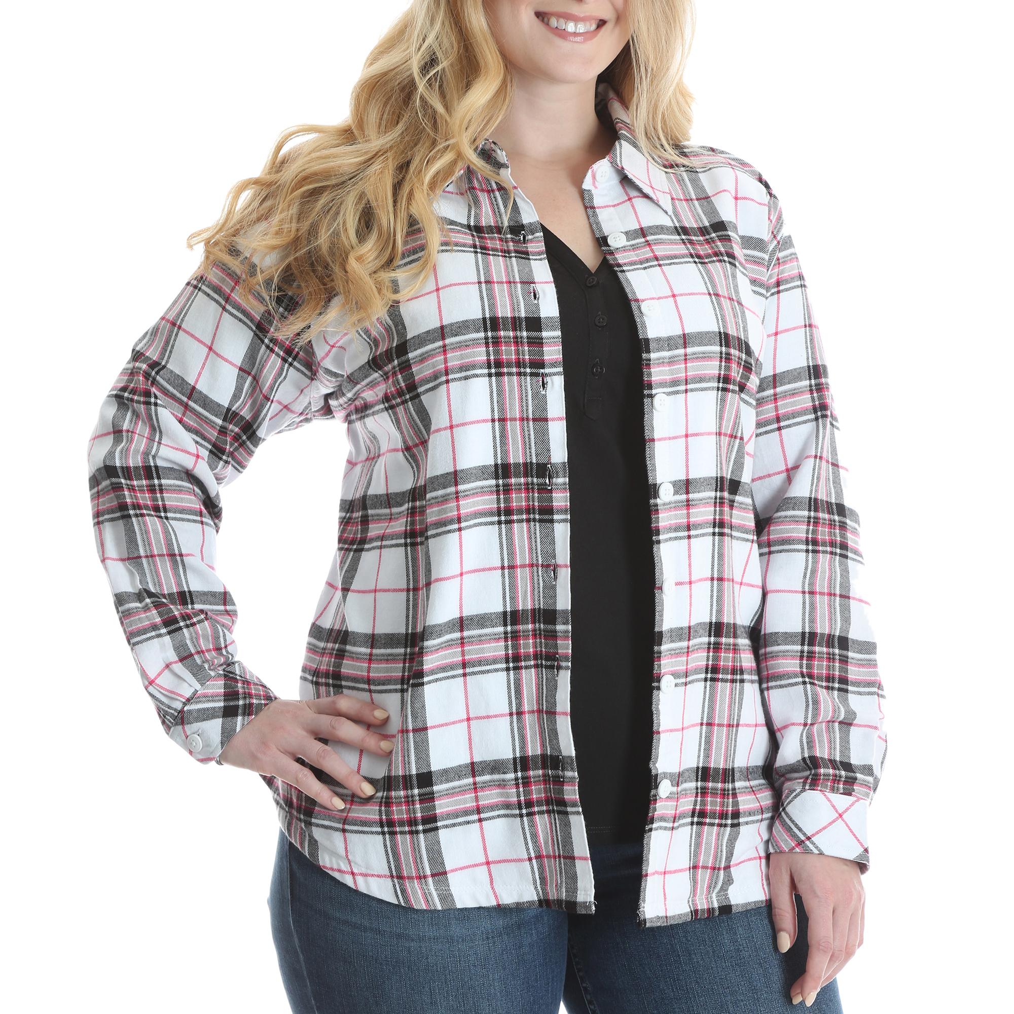 SLF0MWP - Fleece Lined Flannel Shirt Jacket