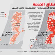 Spot the Difference: Israeli vs Palestinian Cellphone Coverage