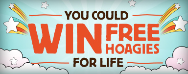 FREE Hoagies for Life Sweepstakes