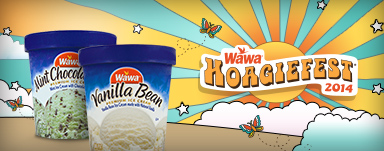 2 for $5 Wawa Ice Cream Pints