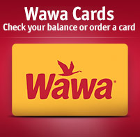 Gift Cards: Check your balance or order a card
