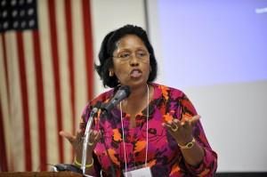 Rose Farhat, a seminarian from Liberia