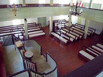 Barratt's Chapel is an officially designated Heritage Landmark of the United Methodist Church. A UMNS photo by Phil Lawton.