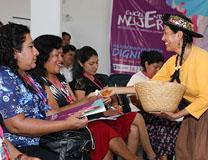 With help from U.S. partners, women from Latin American participated in a Methodist Women Leadership Conference in Perú. Photo courtesy General Board of Higher Education and Ministry.