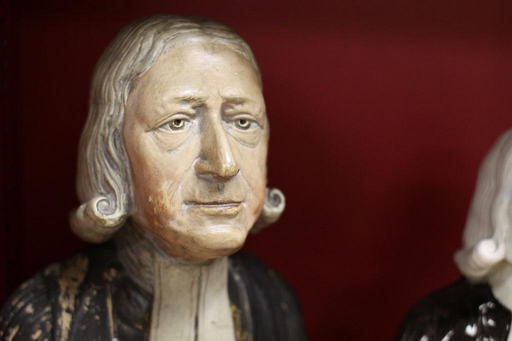 Bust of John Wesley