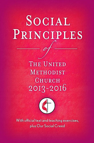 Cover of Social Principles from Cokesbury.com