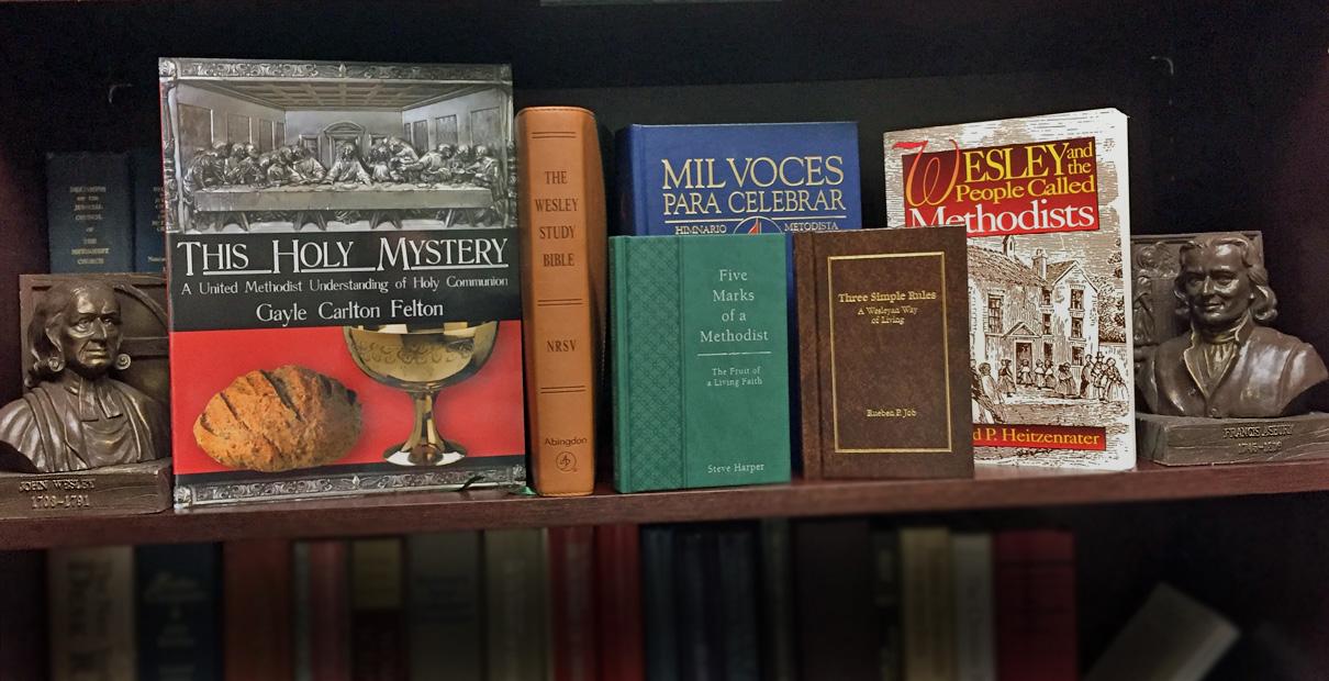 Good books for United Methodists.