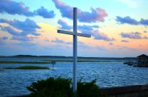 Photo of cross at Belin Memorial United Methodist by Austin Bond Photography. See more at www.facebook.com/AustinBondPhotography. Please email Austin at austinebond@yahoo.com to use photo, and send him a link or copy of the final project that features his credited photo. (arranged by Kathryn Price); austinebond@yahoo.com