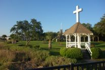 Epworth by the Sea - scenic photo of the Christian retreat center in St. Simons Island, Ga. named to honor the boyhood home of John and Charles Wesley. The center is a hospitality ministry of the South Georgia Conference of the United Methodist Church providing a place for worship, study and fellowship. (information from the Epworth by the Sea website)  Photo by Diane Degnan; Photo by Diane Degnan