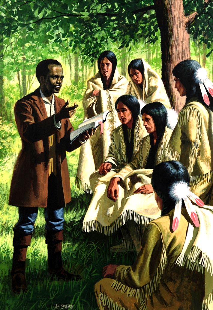 The Missionary Society was formed in New York City in response to the mission work of John Stewart, a freeborn African-American, among the Wyandotte Native American people in Ohio.